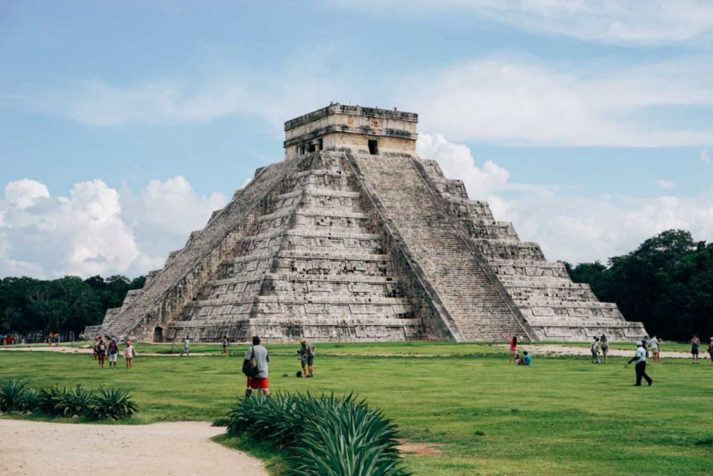Mexican pyramid
